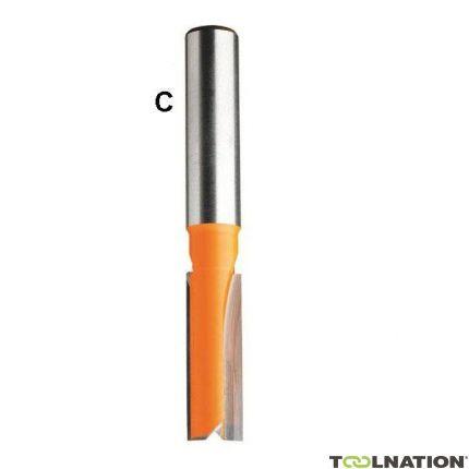 Groeffrees met rechte snijkop 16mm, schacht 6 mm