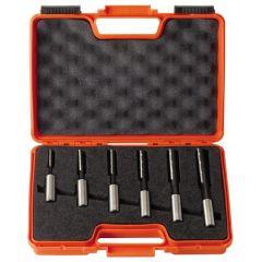 ( Ø 16 mm ) Set rechte langgatboren met spaanbrekers 6 stuks links