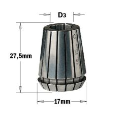 Spantang ER16 9mm
