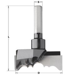 Rosette frees diameter 54 mm lengte 73,5 mm