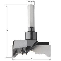 Rosette frees diameter 70 mm lengte 76,5 mm