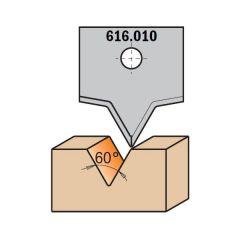 Profielmessen voor profielfrees 616.200, profiel 010