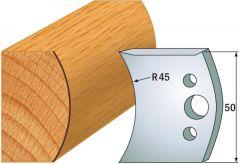 Profielmes paar hoogte 50 mm nummer 556