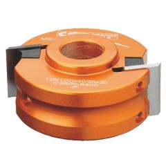 Profielfreeskop zonder Spaanbegrenzer 120x50x40 mm ALU MEC