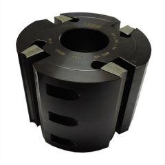 Profielfreeskop voor geribte messen 8 mm 137x50x130