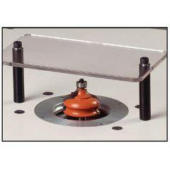 Regelbare beschermplaat in staal / Lexan voor artikel 999.500.01