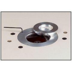 Universele inlegplaat met aluminium inlegringen Ø103-69.5mm met montagegaten voor artikel 999.500.01
